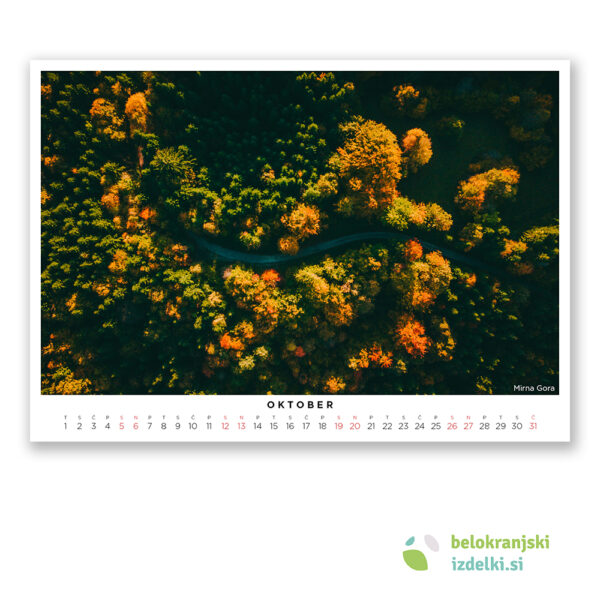 Bela krajina Koledar (oktober - Mirna Gora)