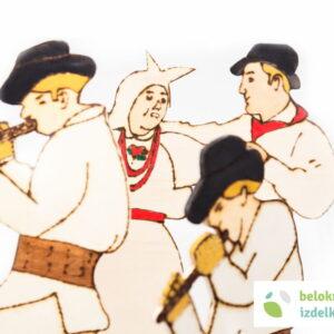 Lesena figura – Belokranjski ples