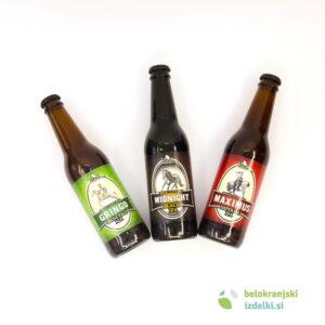 Darilni trojček piv  0,33L | Pivovarna Vizir