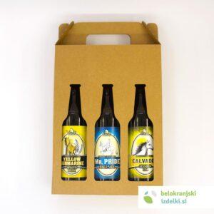 Darilni šestorček piv 0,5L | Pivovarna Vizir