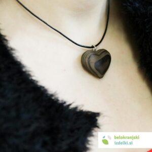 Ogrlica Smrekov srček