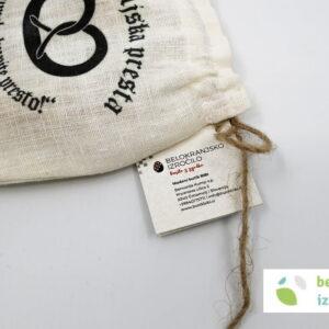 Črnomaljska presta v lanenem žakeljčku | Belokranjsko izročilo