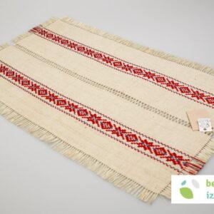 Belokranjski prtiček | dva vzorca | 50 x 30 cm