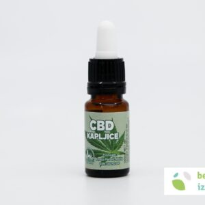 CBD kapljice – 5% | 10 ml