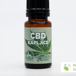 CBD kapljice – 5%   10 ml