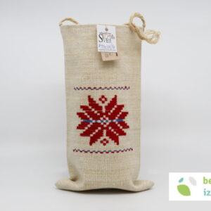 Darilna vrečka z belokranjskim vzorcem | Dva vzorca