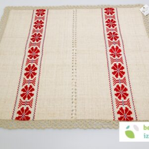 Belokranjski prtiček | 63 x 63 cm | dva različna vzorca