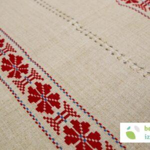 Belokranjski lanen prtiček | 63 x 63 cm | dva različna vzorca