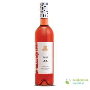 Vino Rose kak.rd. polsuho KZ Metlika 0,75L